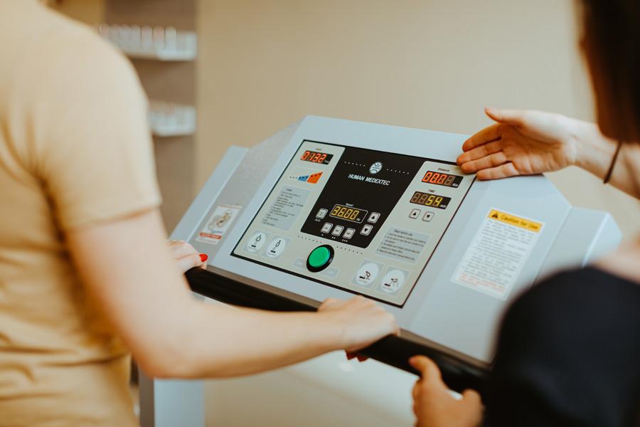 galeria zabieg Platforma wibracyjna Deam Healther