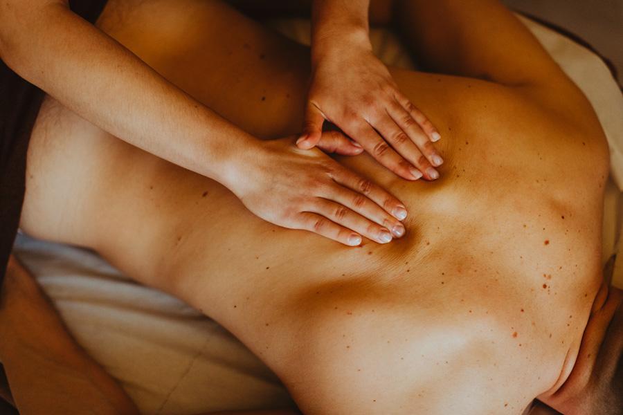 galeria masaż pleców