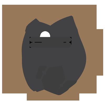 Masaż rolkowy - ikona