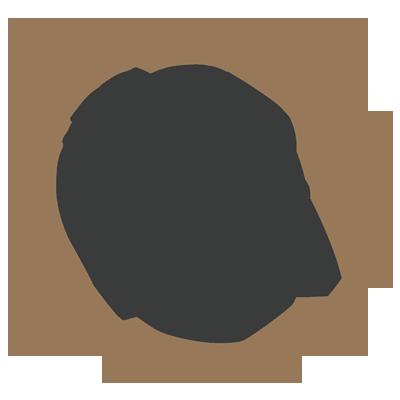 ikona męska stylizacja brwi
